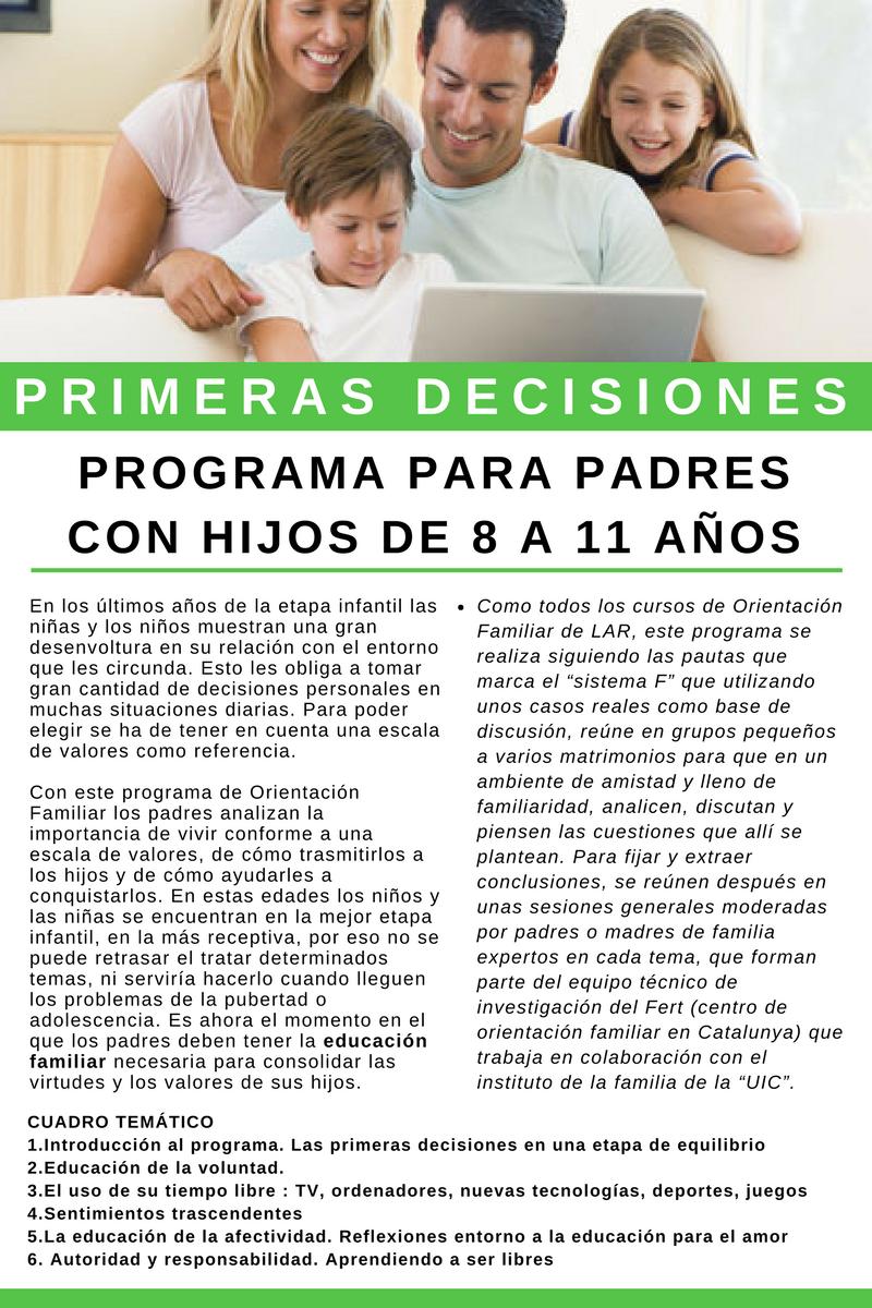 Primeras decisiones