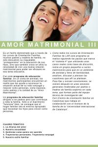 Amor matrimonial 3